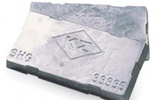 Kẽm thỏi - Xi mạ Hàn Quốc SHG 99.995%